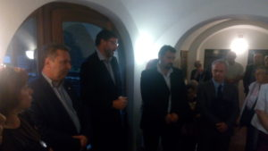 Chairman of the Federation of Jewish Congregations Petr Papoušek was one of the speakers